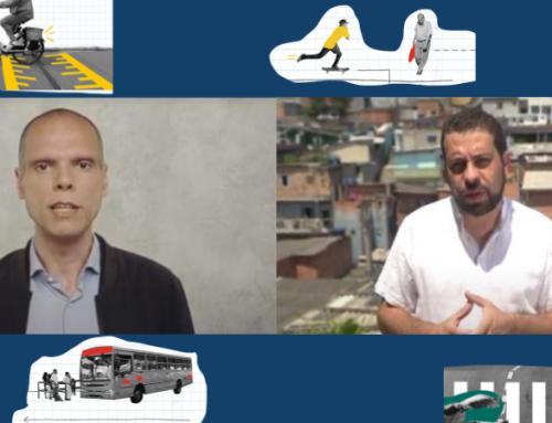 Perguntamos a Boulos e Covas suas propostas para tarifas de ônibus, segurança no trânsito e qualidade do ar